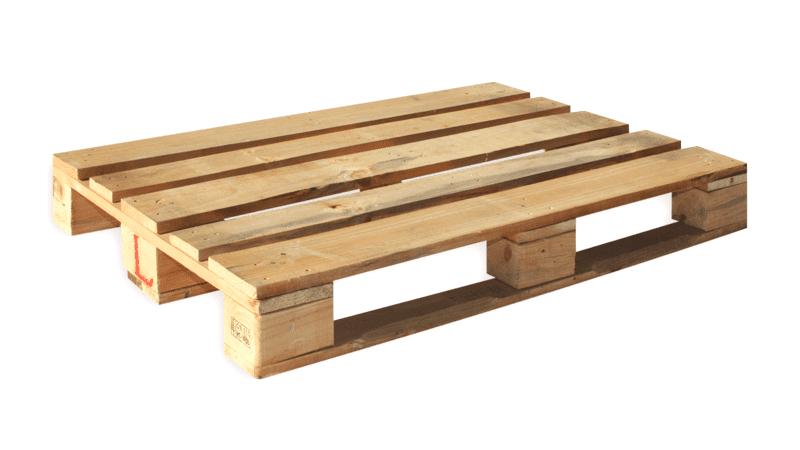 Houten pallets - 1000 x 1200mm (5 st)