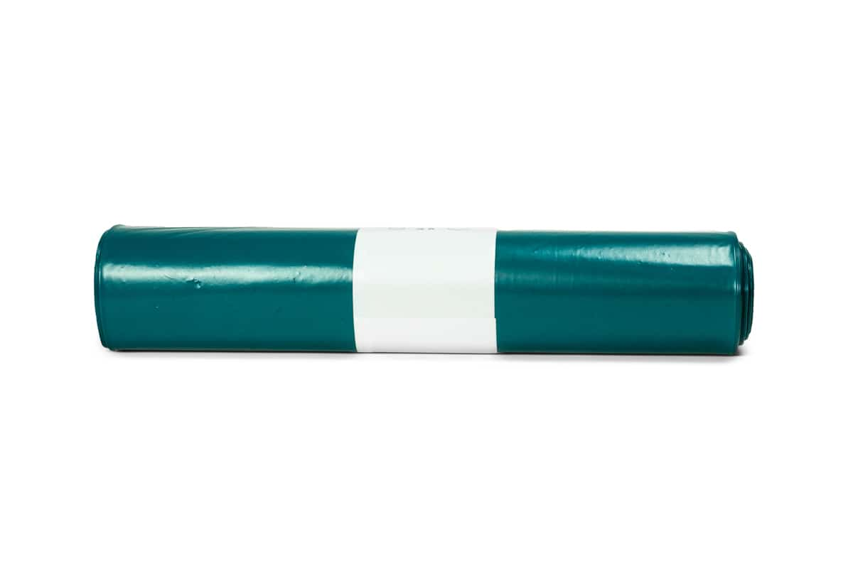 LDPE afvalzakken blauw - 65 x 25/25 x 140cm x 70my