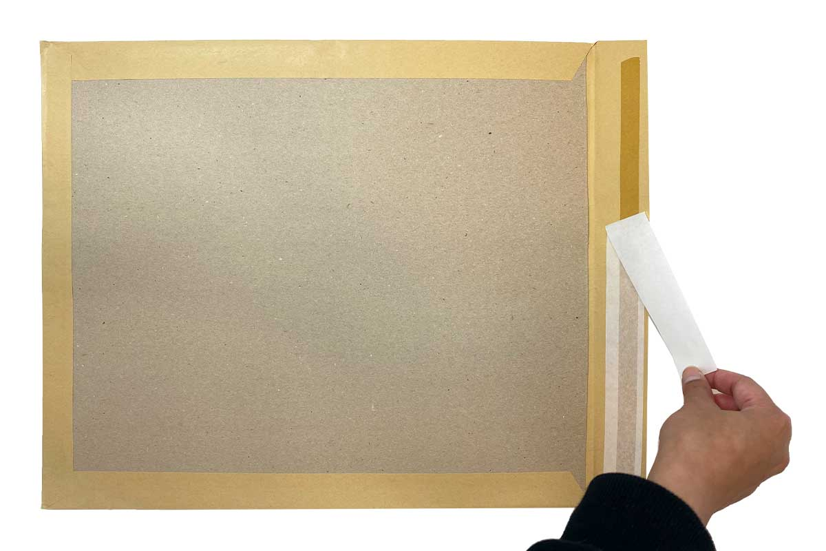 Bordrug enveloppen bruin A3+ - 380 x 450mm (100 st)