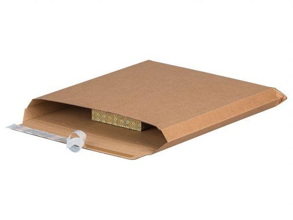 Massief enveloppen bruin 175 x 250mm (100 st)