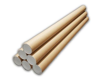 Ronde verzendkoker - 845mm x ⌀ 50mm (25 st)