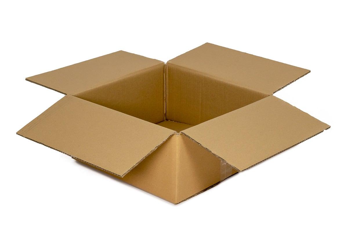 Kartonnen doos - 340 x 230 x 130mm (enkele golf)