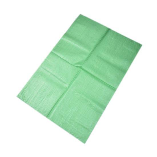 Polyprop zakken groen - 55 x 105cm x 90gr.