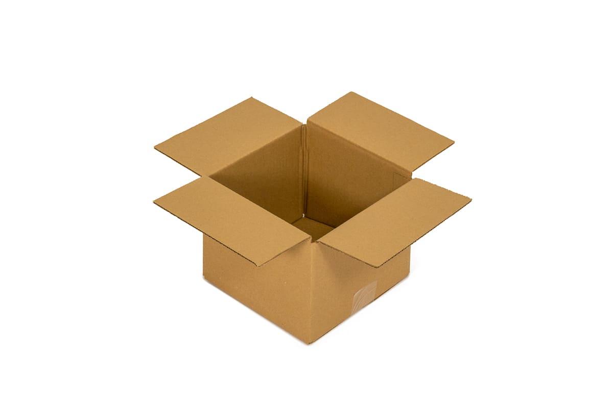 Kartonnen doos - 200 x 200 x 150mm (enkele golf)