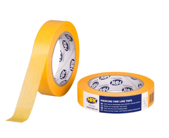 Masking tape 4400 gold HPX - 25mm x 50m