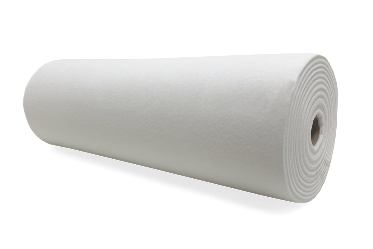 Vloer afdekvlies wit - 60cm x 25m (180gr/m²)