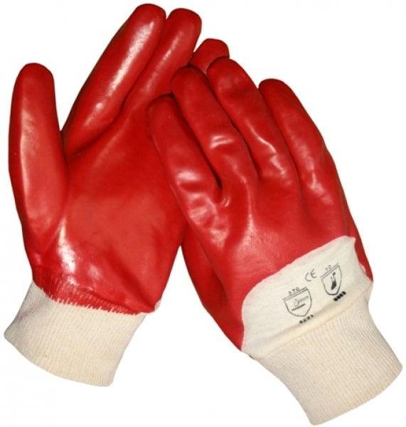 PVC met ventilerende rug werkhandschoenen