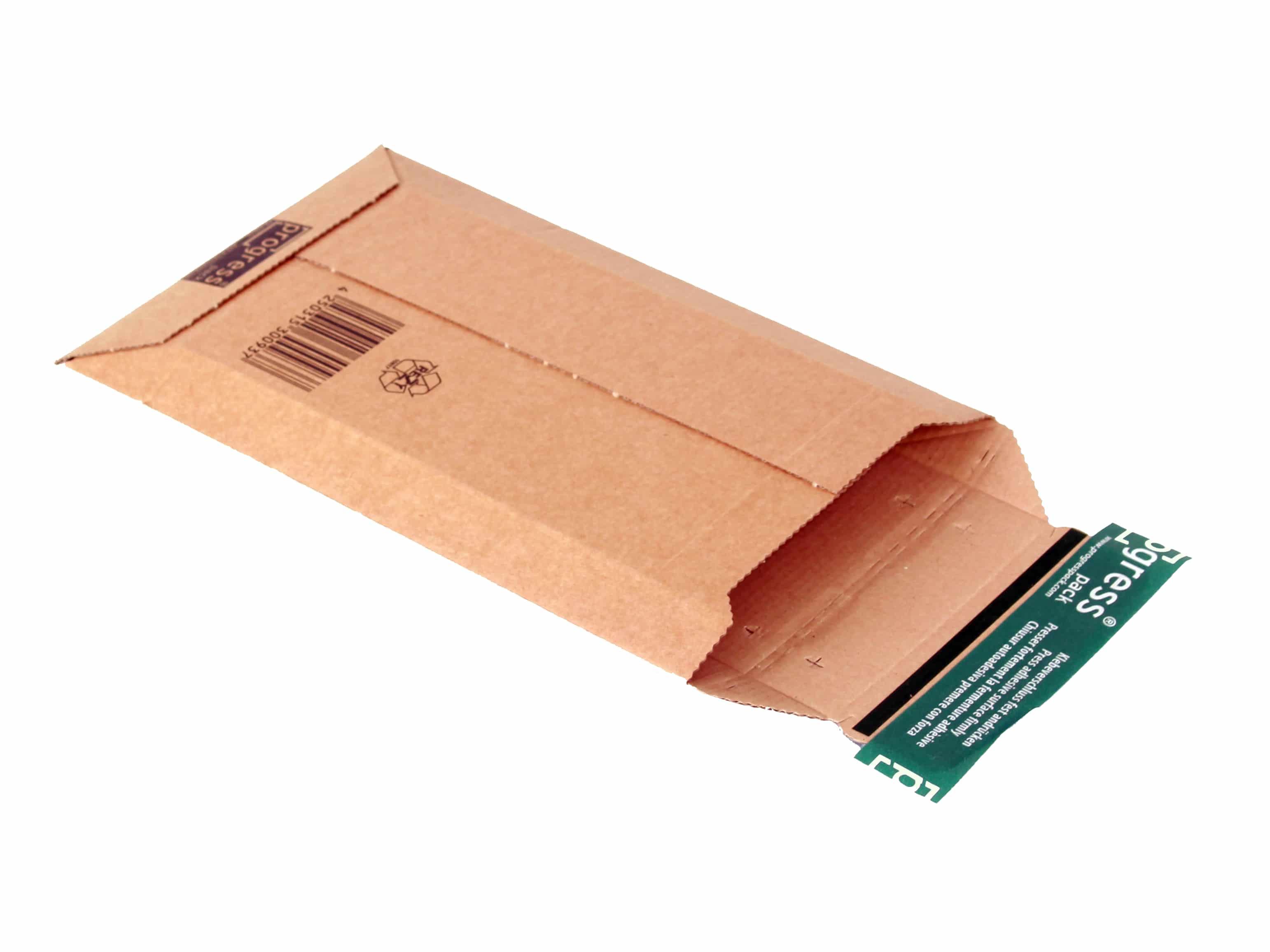 Kartonnen enveloppen Premium - 150 x 250 x 0-50mm (100 st)