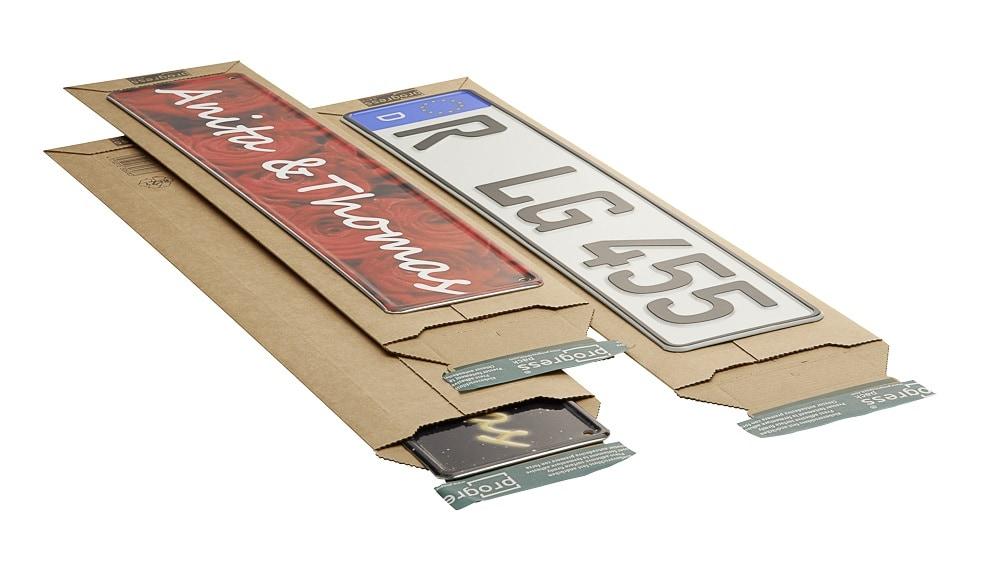 Kartonnen enveloppen Premium - 140 x 590 x 0-50mm (100 st)