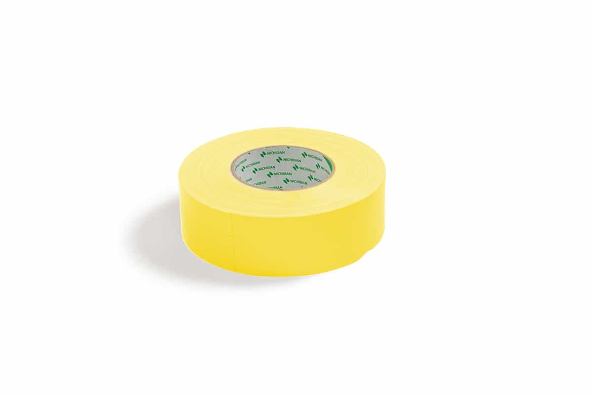 Nichiban® 1200 gaffa tape geel - 38mm x 50m