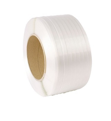 Polyester composietband wit - 16mm x 850m