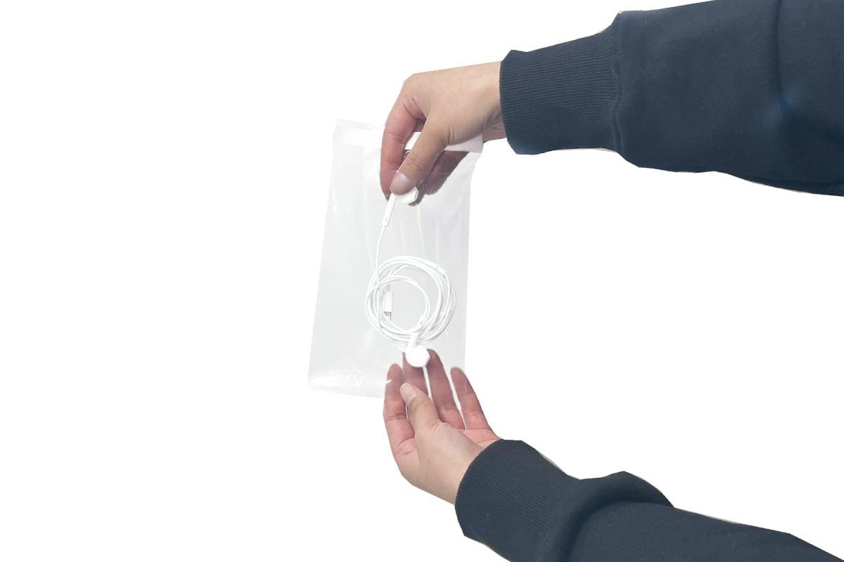 Enveloppen transparant - 115 x 160 + 40mm (1.000 st)