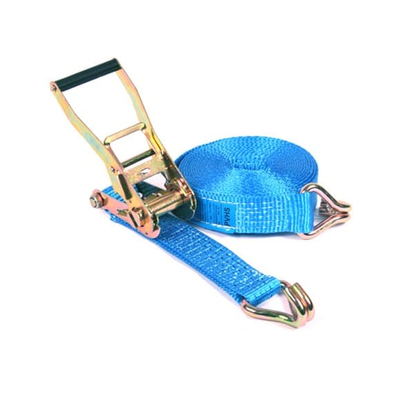 Spanband 2-delig blauw - 50mm x 9m (5 ton)