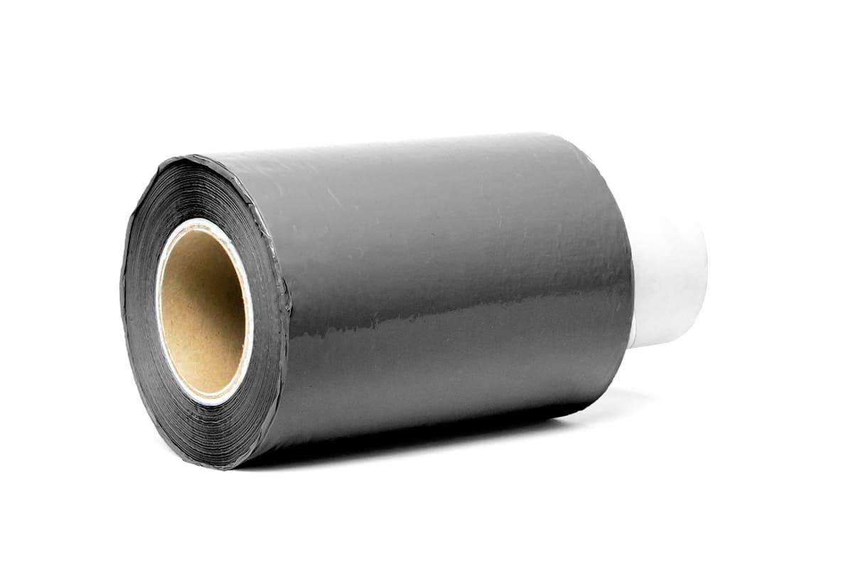 Bundelfolie zwart - 10cm x 150m x 20my (24 st) + GRATIS afroller