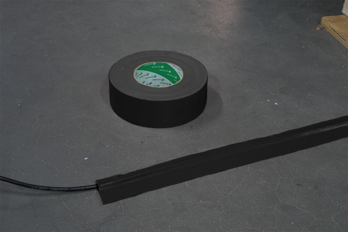 Nichiban® 1200 gaffa tape zwart - 25mm x 50m