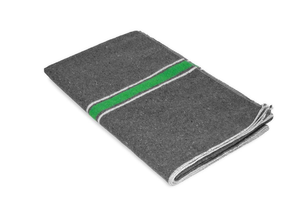 Verhuisdekens fedepack groen/wit - 150 x 200cm x 1500gr (5 st)