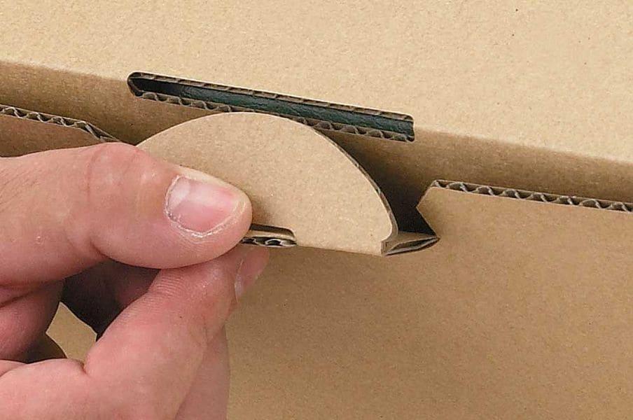Kartonnen ordnerdoos - bruin (20 st)