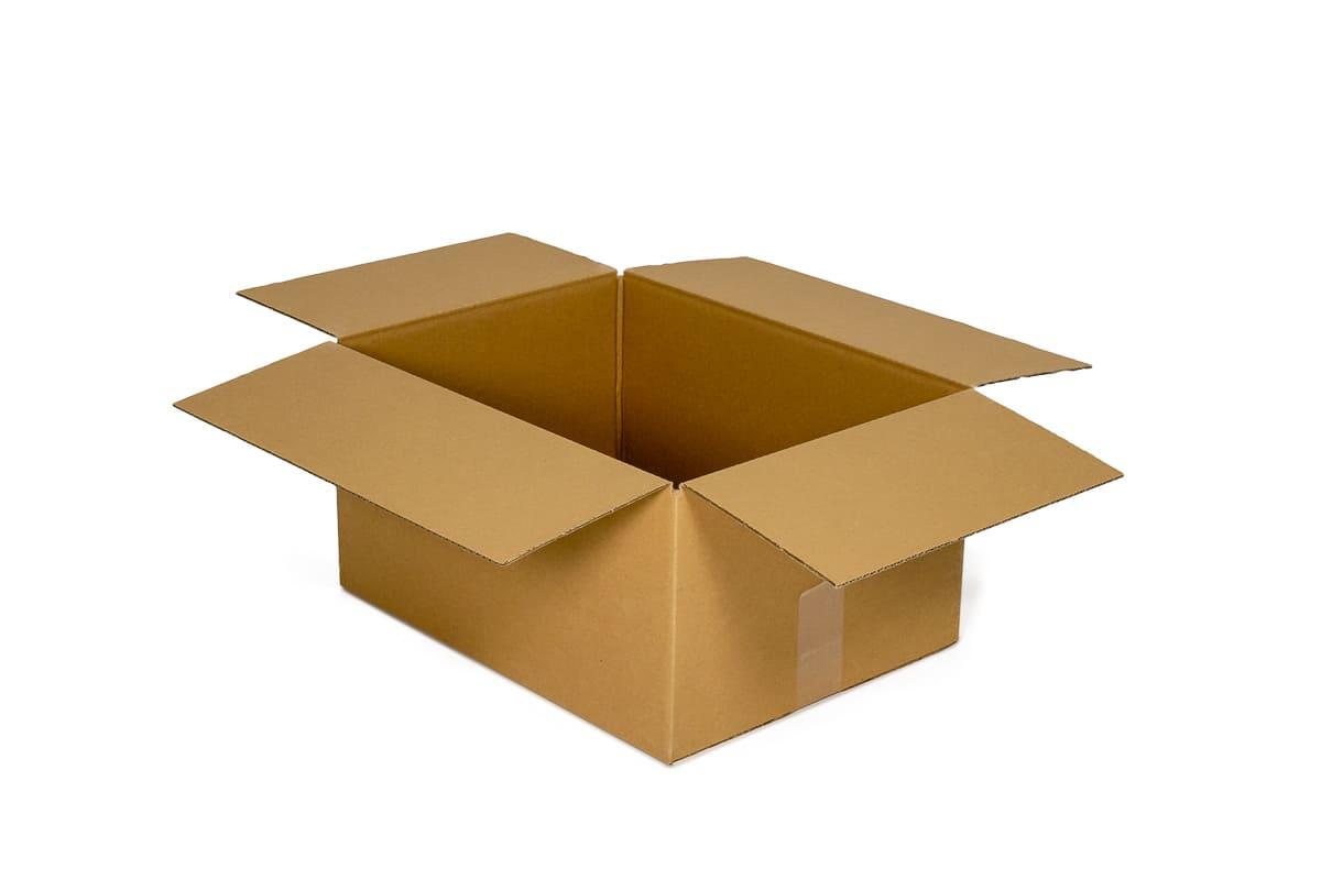 Kartonnen doos (A4) - 305 x 220 x 220mm (enkele golf)