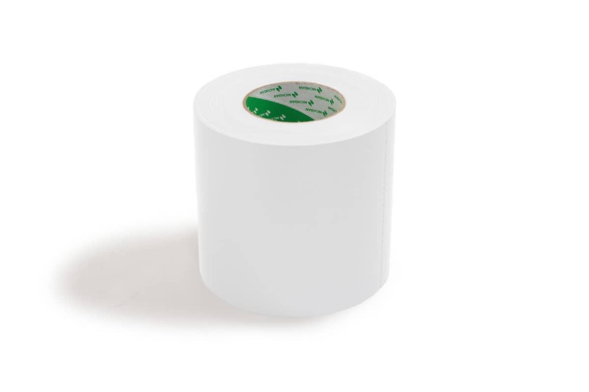 Nichiban® 1200 gaffa tape wit - 100mm x 50m