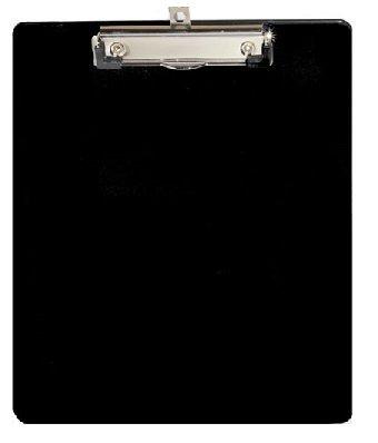 Klembord A4 zwart staand met kopklem