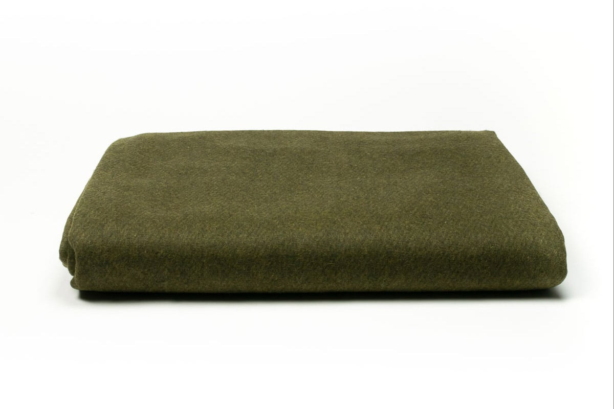 Legerdekens Alfa groen - 160 x 225cm x 50% wol (5 st)