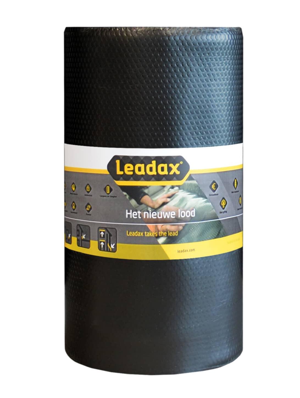 Leadax loodvervanger zwart - 330mm (1,98m²)