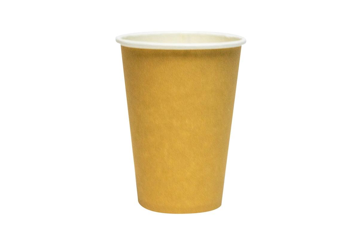 Kartonnen koffiebekers bruin - 180ml (2.500 st)
