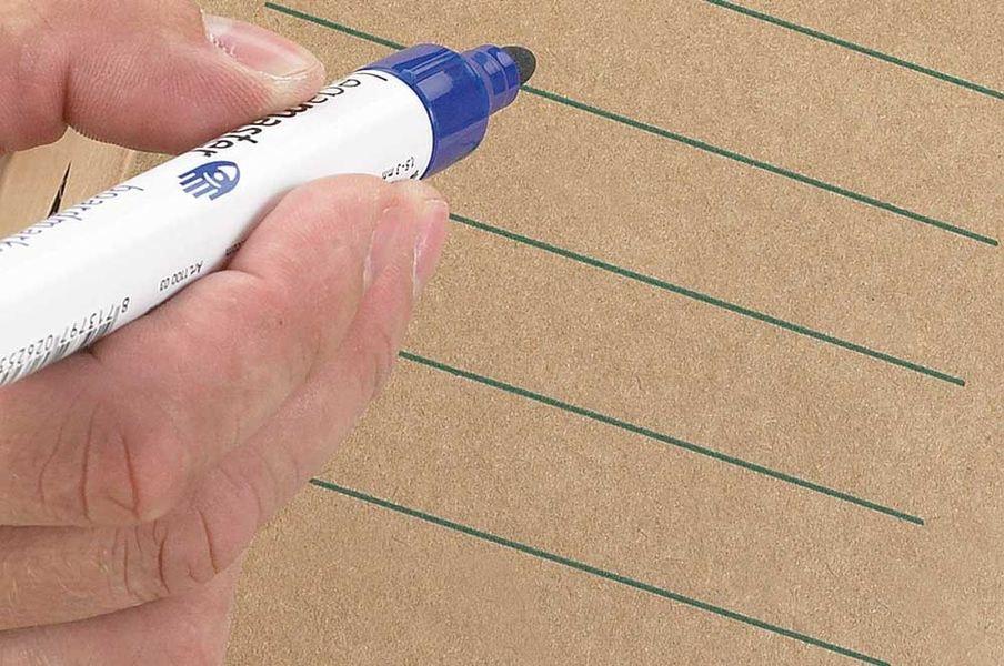 Kartonnen opbergdoos met deksel + autolock - bruin (10 st)
