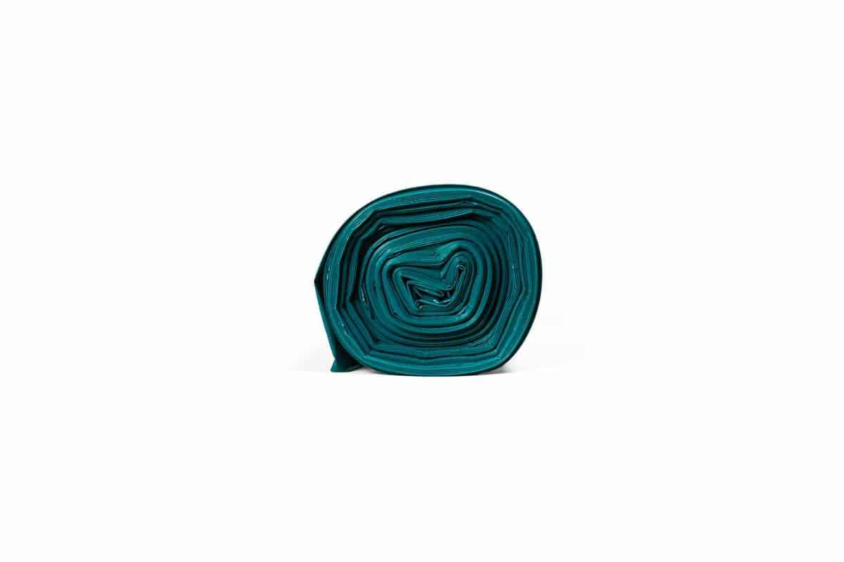 LDPE afvalzakken blauw 240 liter - 65 x 25 x 140cm x 70my