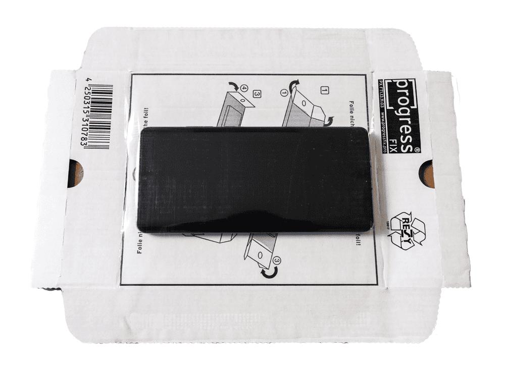 Smartphone verzenddoos + fixeertray wit 215 x 155 x 43 mm (20 st)