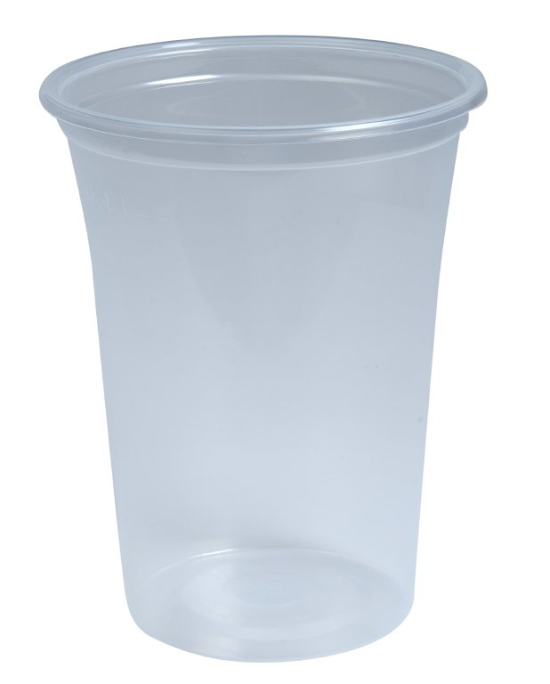 Plastic drinkbekers transparant - 200ml (3.000 st)