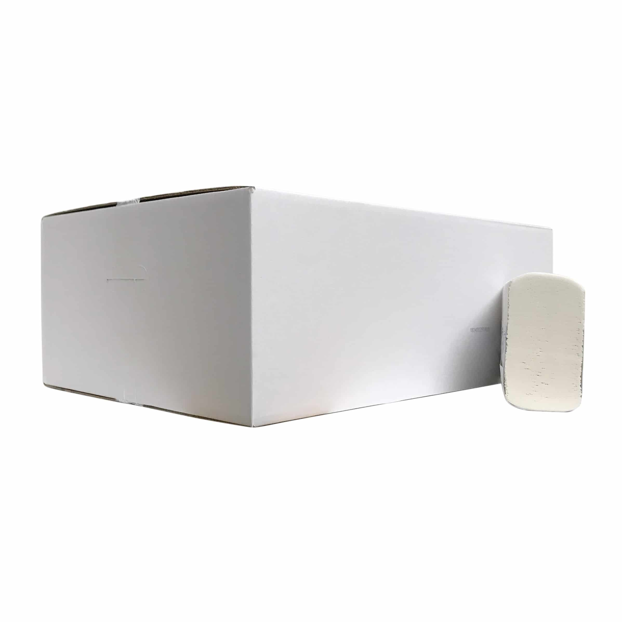 Papieren handdoekjes multifold luxe 2-laags SoftTech - 2000 vel