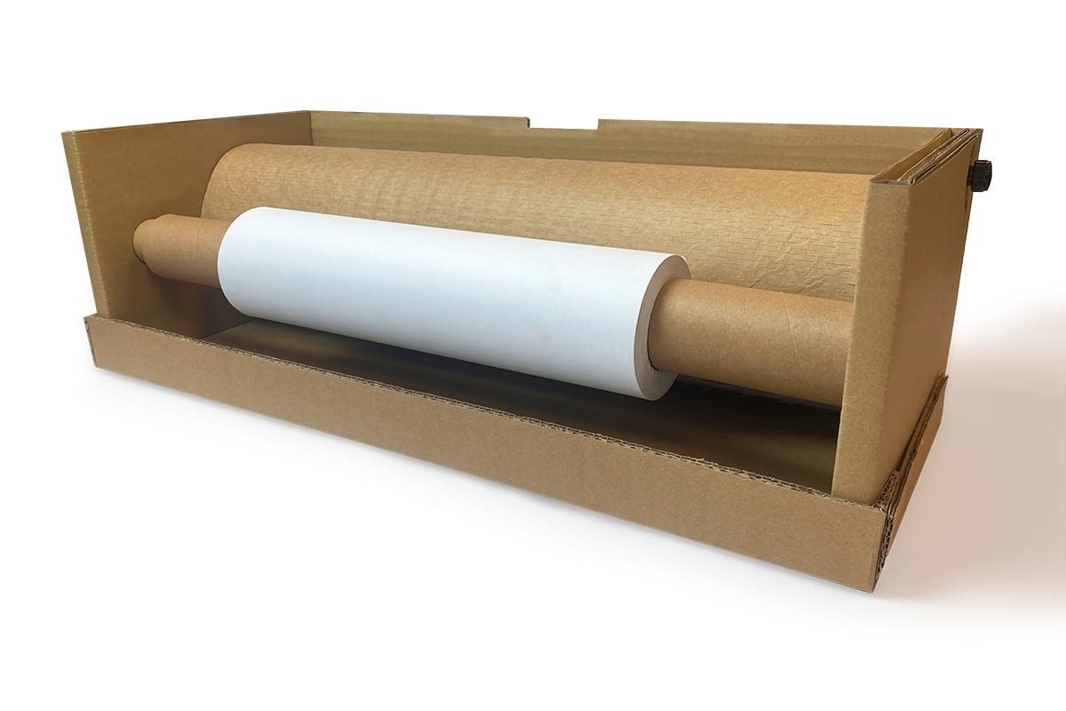 Papier dispenser Easy wrap set - 50cm x 80gr + 30cm x 110m