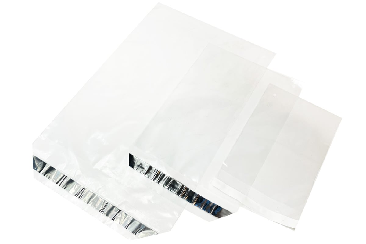 Enveloppen transparant - 220 x 320 + 50mm (1.000 st)