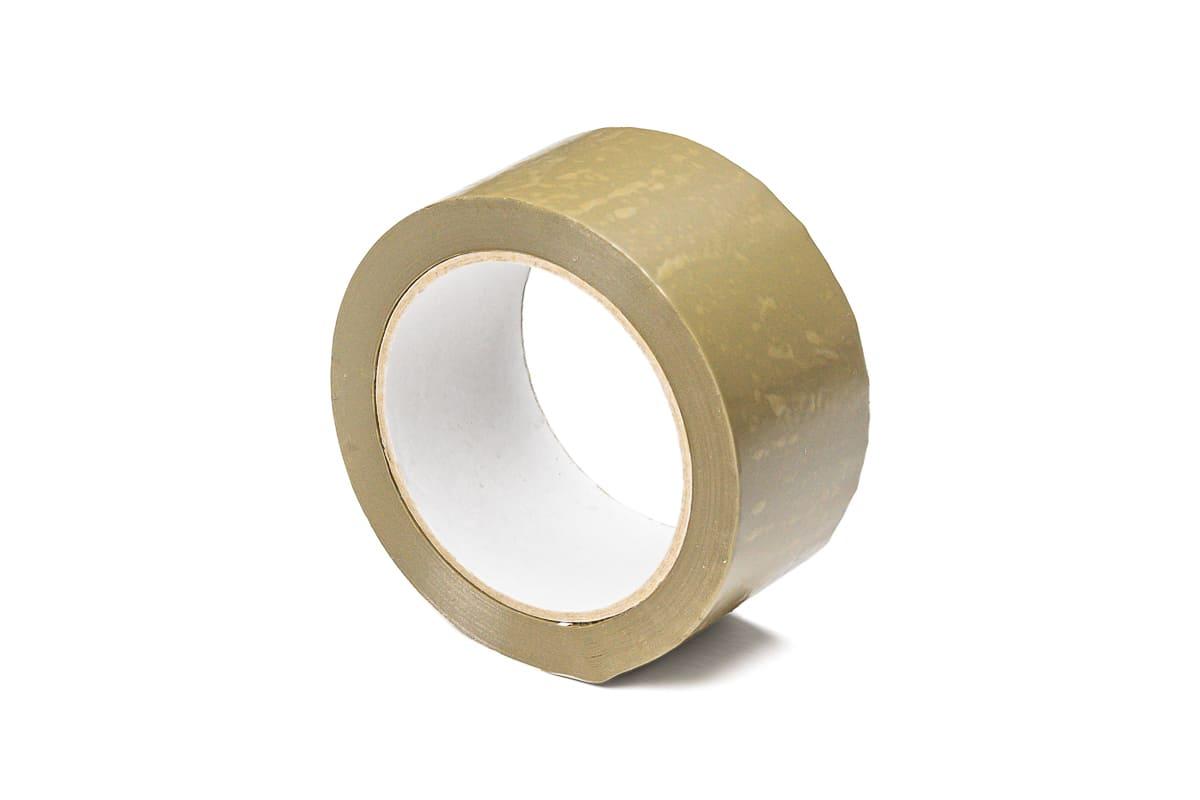 PVC tape bruin - 100mm x 66m