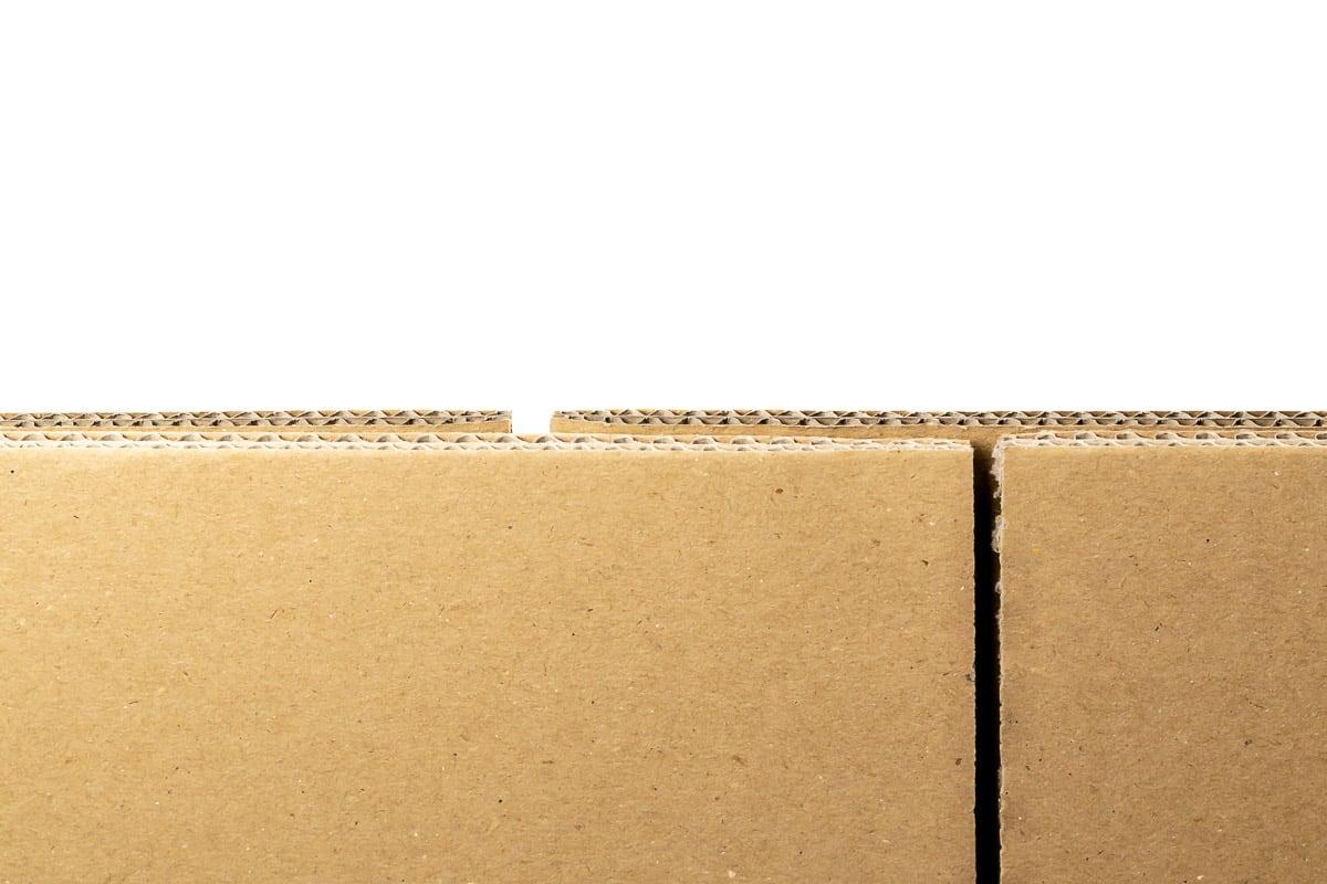 Kartonnen doos - 505 x 505 x 215mm (dubbele golf)