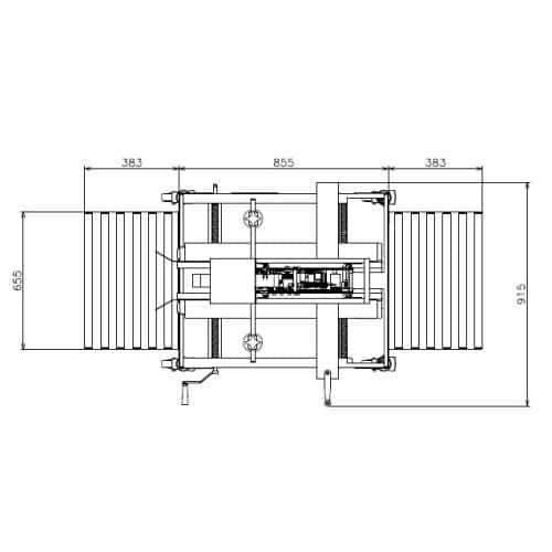 Dozensluiter machine PFP Extend 26U