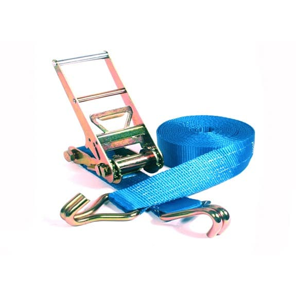 Spanband 2-delig blauw - 75mm x 9m (10 ton)