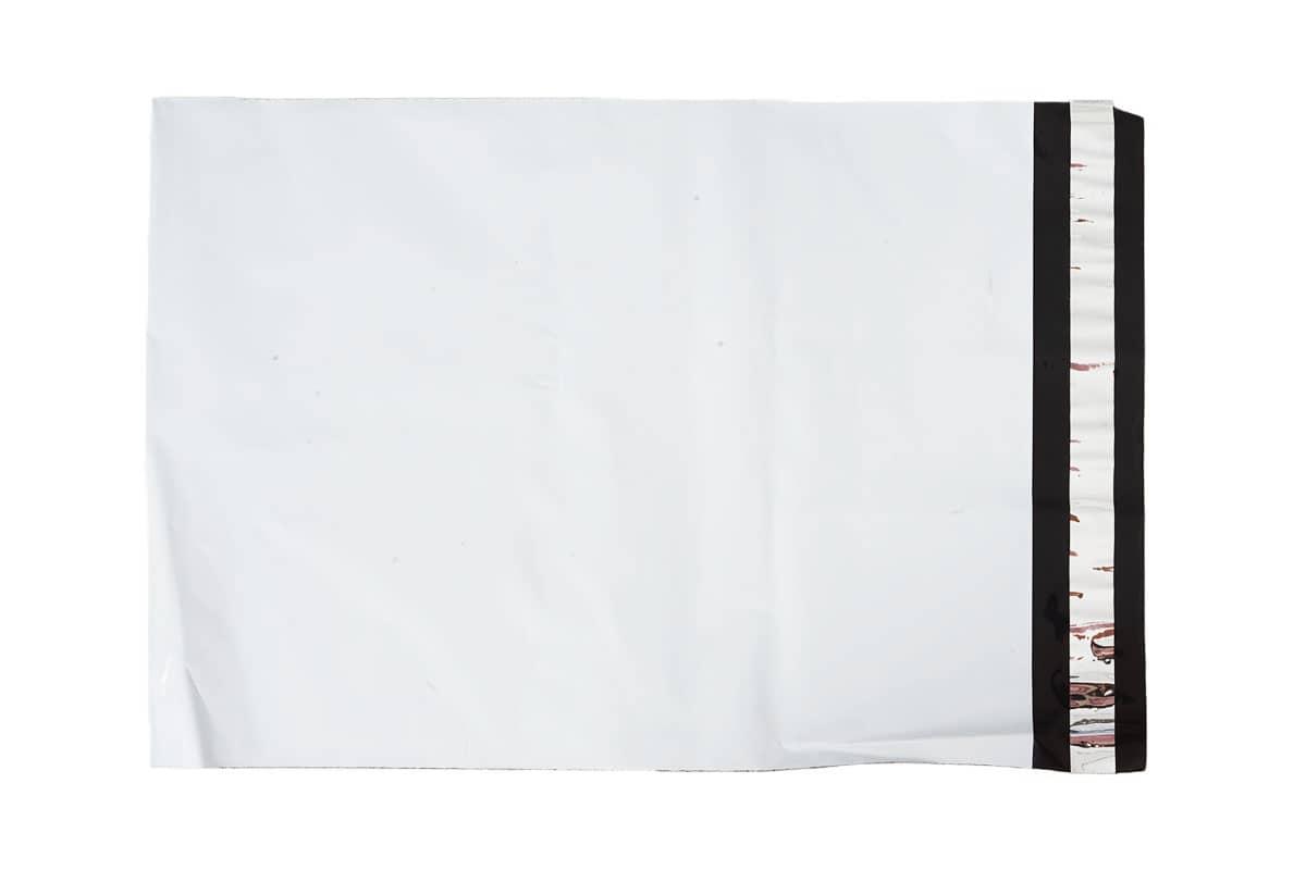 Coex verzendzakken wit - 850 x 950mm x 75my (100 st)