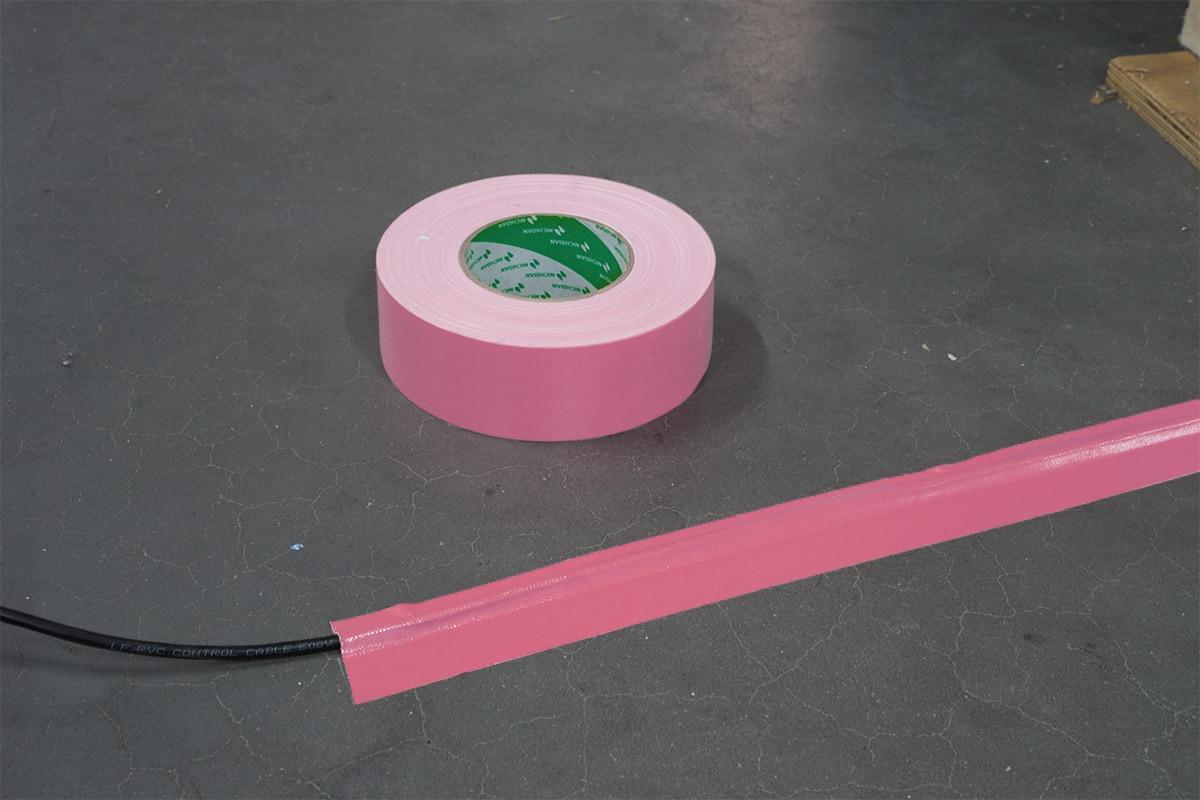 Nichiban® 1200 gaffa tape roze - 25mm x 50m