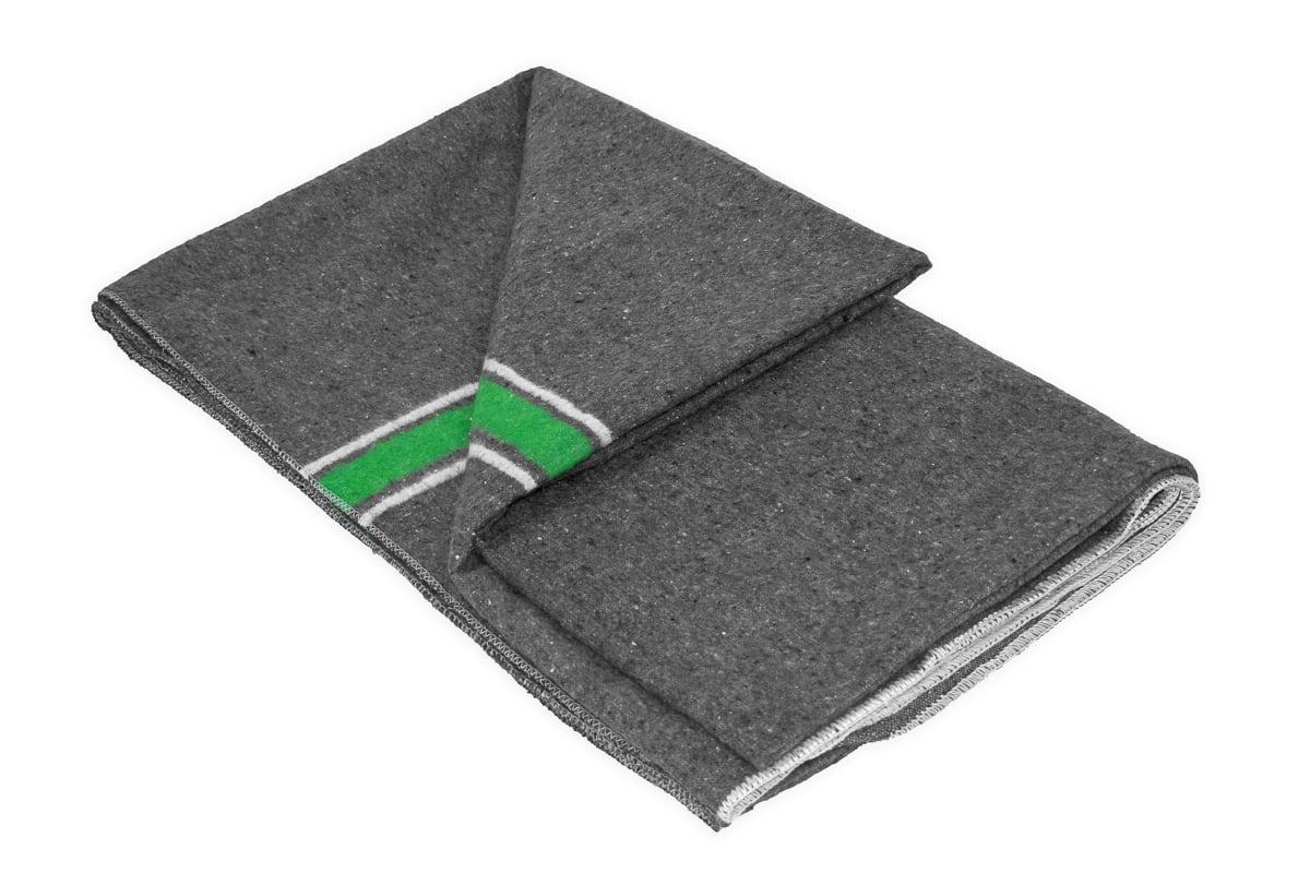 Verhuisdekens fedepack groen/wit - 150 x 200cm x 1500gr