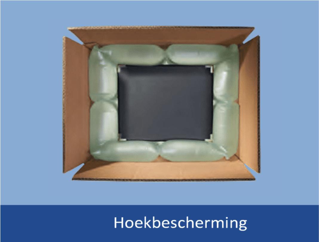 PP-air luchtzakjes folie voorgevuld in zak - 100 x 200mm (700 st)