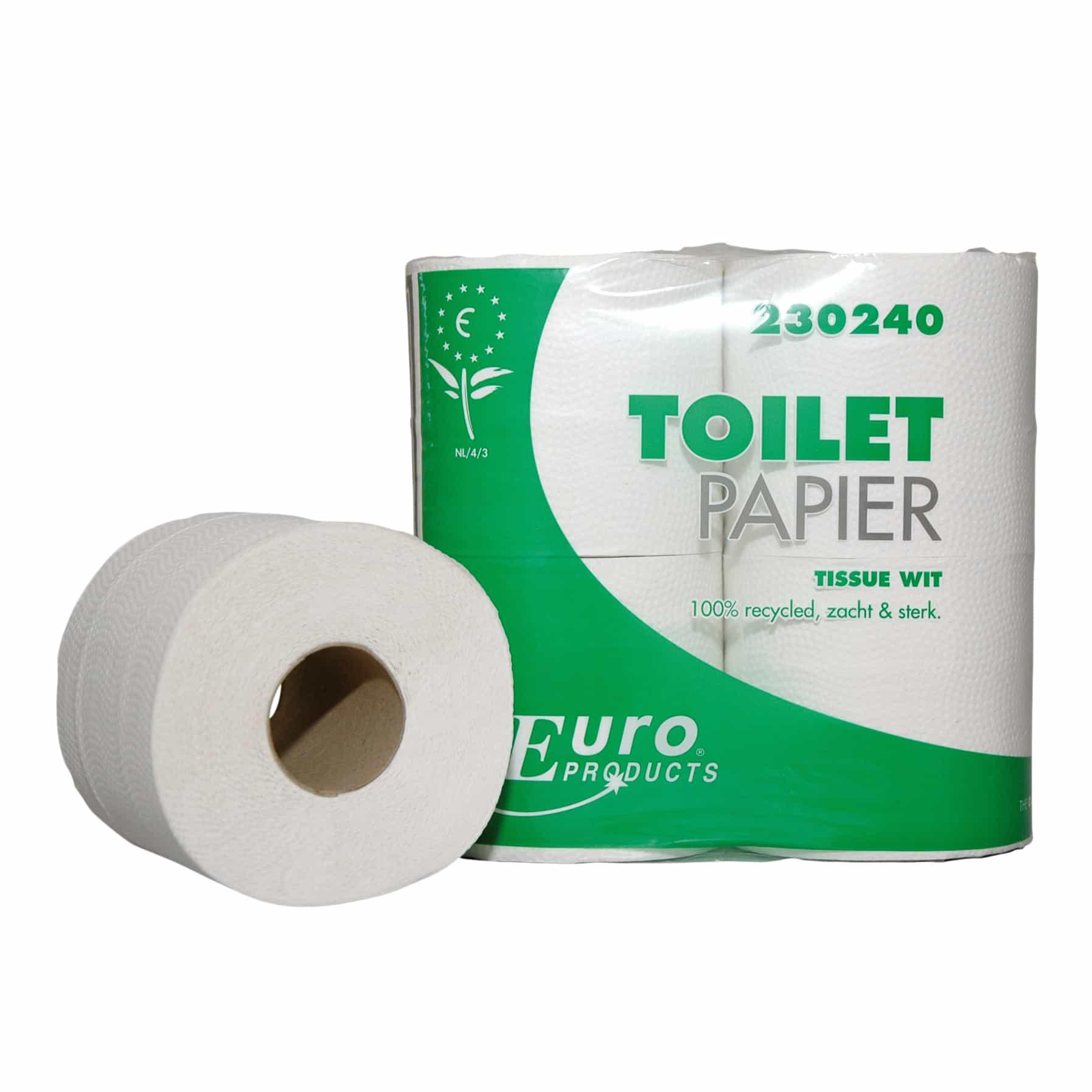 ECO toiletpapier gerecycled 2-laags - 400 vel (40 rollen)