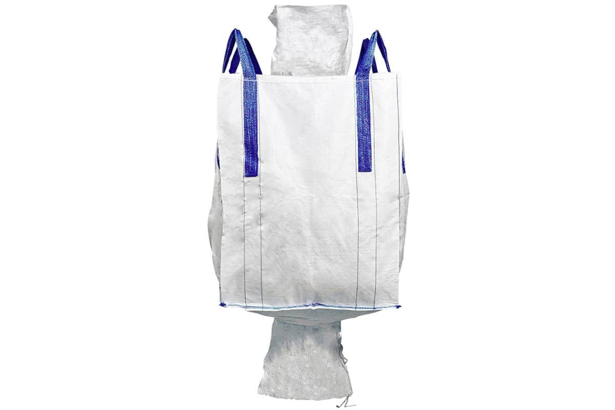 Big Bag met vul en losslurf -  90 x 90 x 120cm (1 m³)