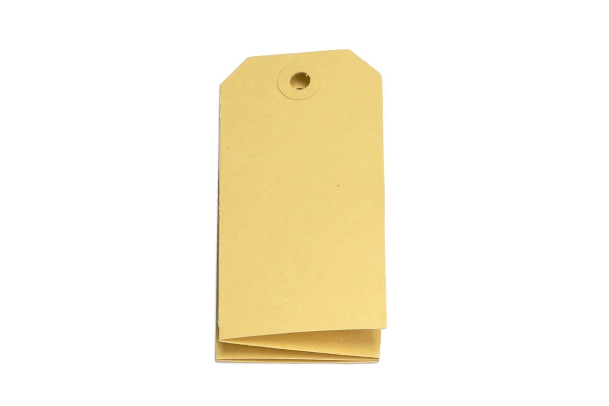 Buldog kartonnen labels - 55 x 110mm (1.000 st)