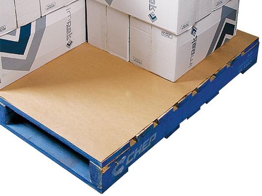 Kartonnen palletplaten Euro massief - 75 x 115cm