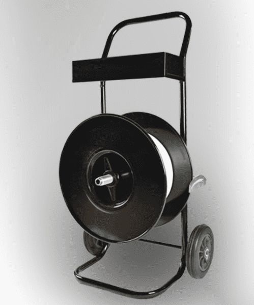 Composietband haspel zwart K-200