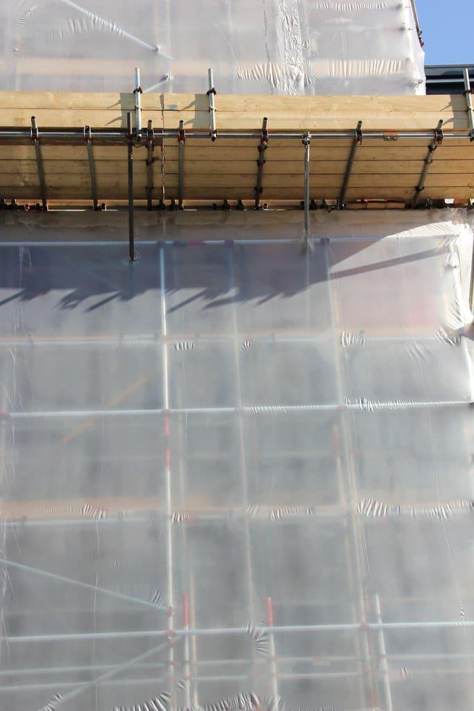 Krimpfolie transparant (steiger) - 600cm x 50m x 200my