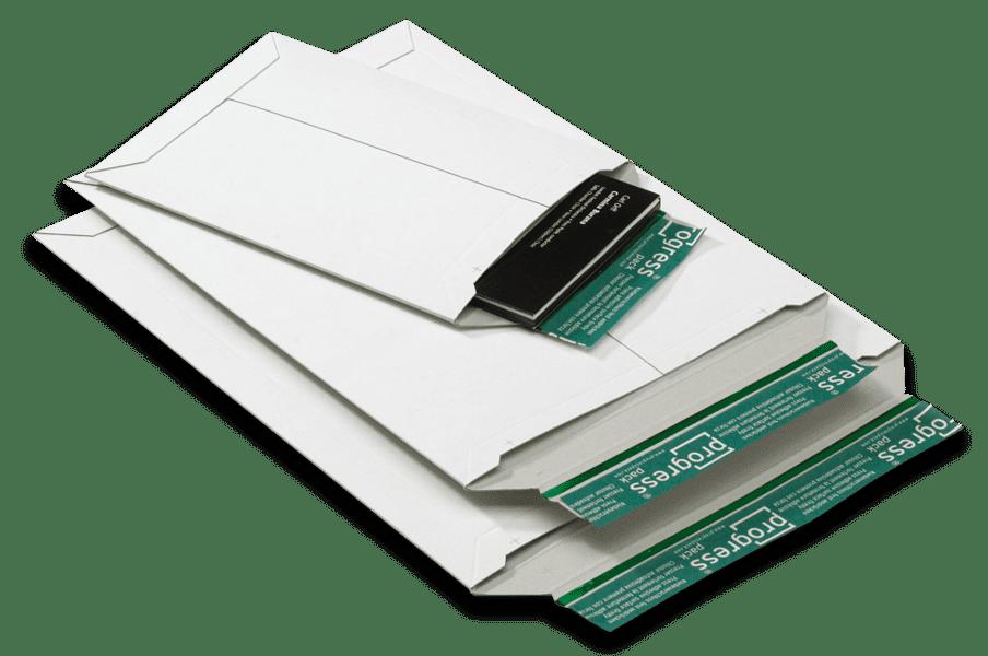 Massief kartonnen enveloppen wit B4 - 285 x 365 x 0-30mm (100st)