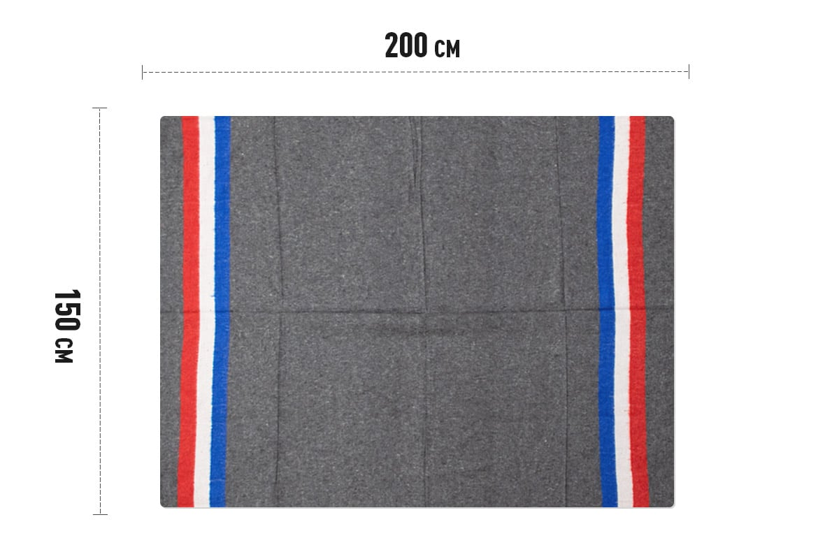 Verhuisdekens Hollandse vlag - 150 x 200cm x 1350gr (5 st)